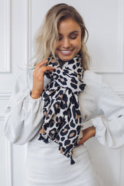 Reow Scarf - Leopard Print-Scarf-Miracle Fashions-O/S-ESTHER & CO.