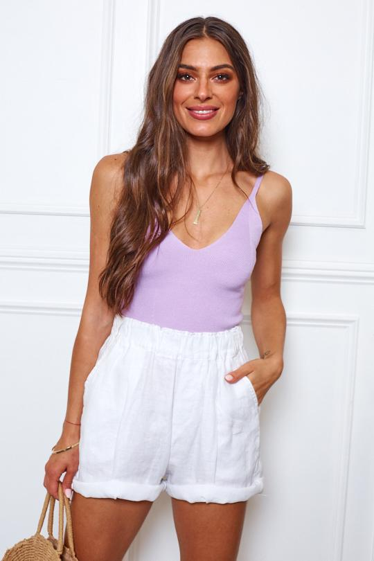 Rich Love Top - Lilac-Tops-Womens Clothing-ESTHER & CO.