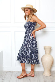River Dress - Navy