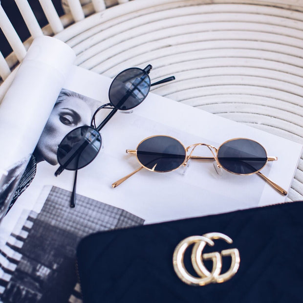 Ellis | Gold-Sunglasses-Womens Accessory-ESTHER & CO.