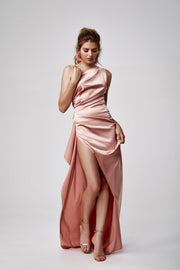 Samira Dress - Pink-Dresses-Womens Clothing-ESTHER & CO.