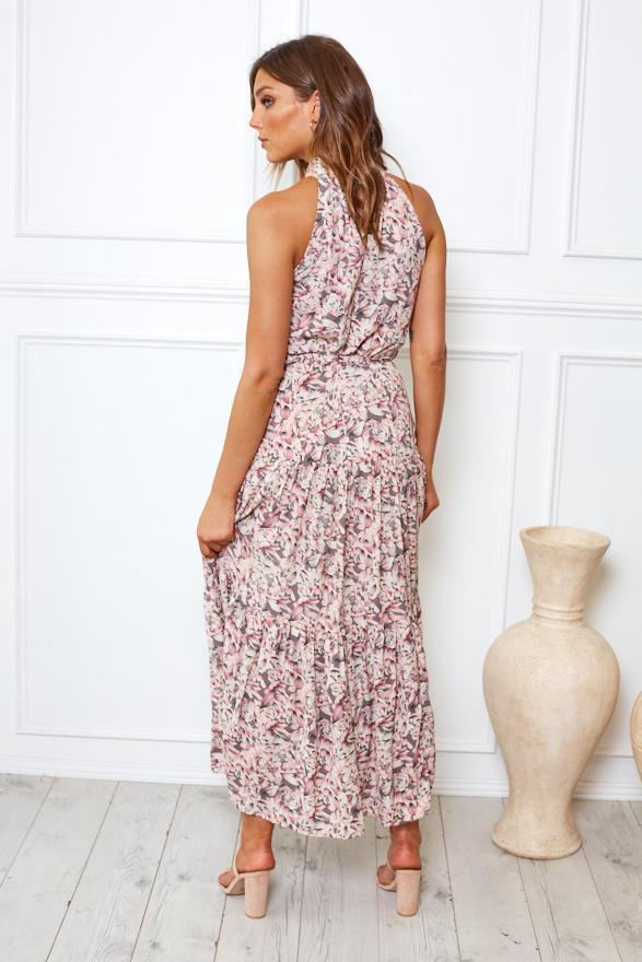 Preorder Savante Dress - Floral Print-Dresses-Womens Clothing-ESTHER & CO.