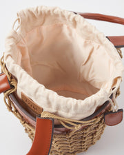 Saville Net Basket Handbag - Tan-Bags-Womens Accessory-ESTHER & CO.