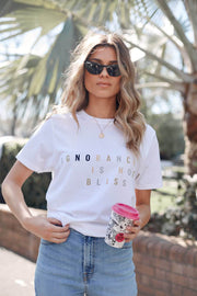 Say No Tee-Tops-Womens Clothing-ESTHER & CO.