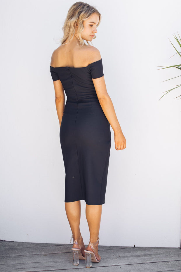 Preorder Seaside Dress - Black-Dresses-Style State-ESTHER & CO.