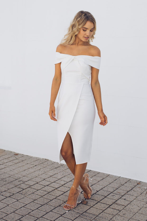 Preorder Seaside Dress - White-Dresses-Style State-ESTHER & CO.