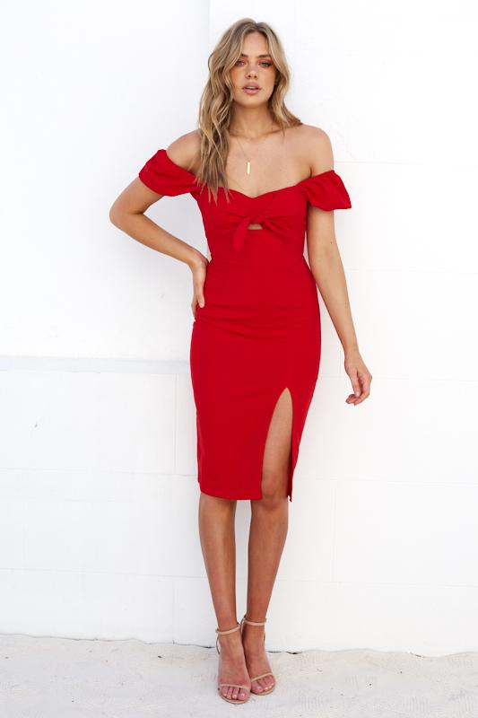 Sharma Dress - Red