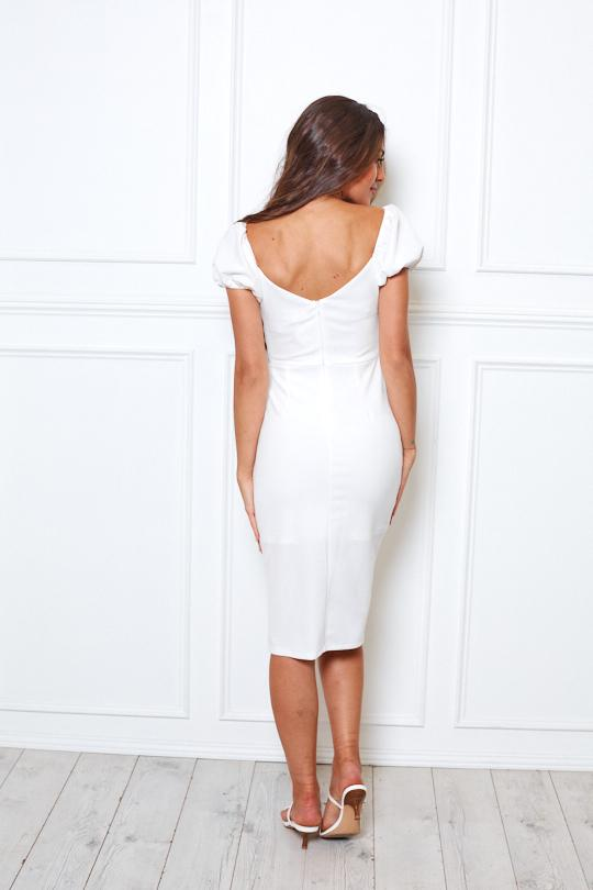 Sharma Dress - White