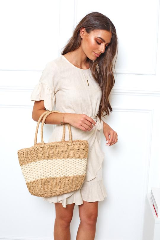 Shoal Rattan Bag - Natural-Bags-Womens Accessory-ESTHER & CO.