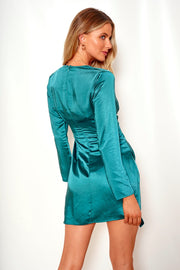 Siera Dress - Emerald