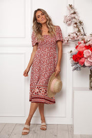 Sinclair Dress - Red