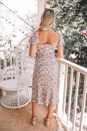Sloane Dress - Floral Print-Dresses-Womens Clothing-ESTHER & CO.