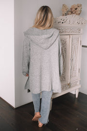 Snugglepot Cardigan - Grey