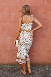 Solo Dress - White Print
