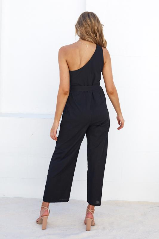 Sophi Jumpsuit - Black-Jumpsuits-Womens Clothing-ESTHER & CO.