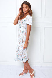 Sophie Dress - White Print