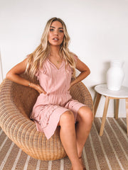 Sussex Dress - Pink-Dresses-Womens Clothing-ESTHER & CO.