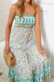 Sweetie Dress - Green Floral
