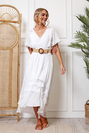 Tadasana Dress - White
