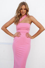 Tala Dress - Pink-Dresses-Womens Clothing-ESTHER & CO.