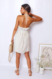 Tiffany Dress - Natural-Dresses-Womens Clothing-ESTHER & CO.