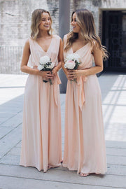Preorder Tulip Maxi Dress - Soft Peach-Dresses-Esther Luxe-ESTHER & CO.