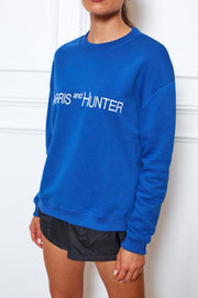 Uniform Jumper - Racing Blue-Jumpers-Womens Clothing-ESTHER & CO.