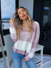 Vogel Jumper - Blush