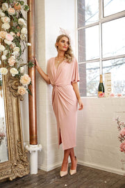 Waltz Dress - Pink-Dresses-Womens Clothing-ESTHER & CO.