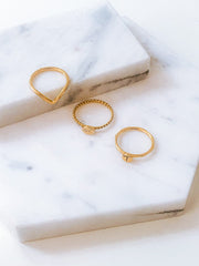 Dainty Braided Personalised Ring-Rings-Womens Accessory-ESTHER & CO.