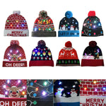 LED Light Christmas Party Beanie