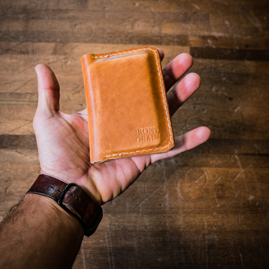 Leather Bifold Wallet - Reagan
