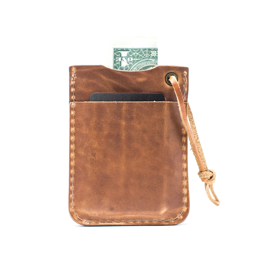 The Lincoln - Mens Leather EDC Wallet