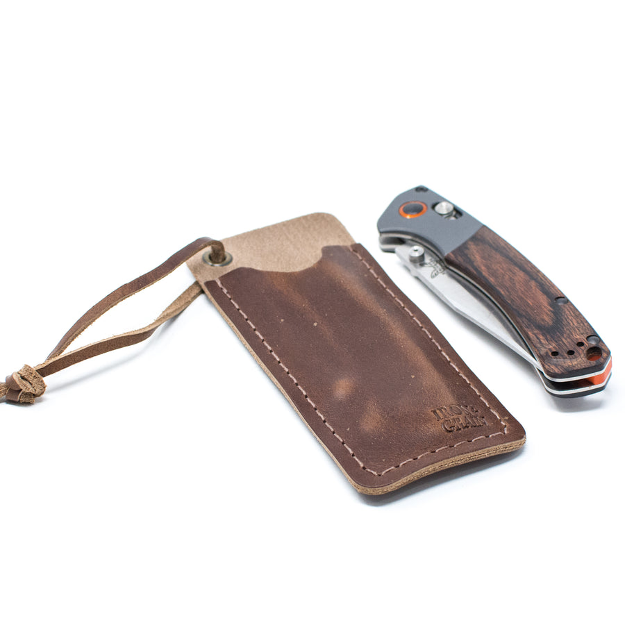 The Wilson - Pocket Knife Sheath - Medium