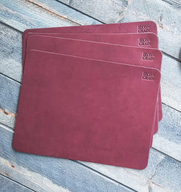 Burgundy Mousepad