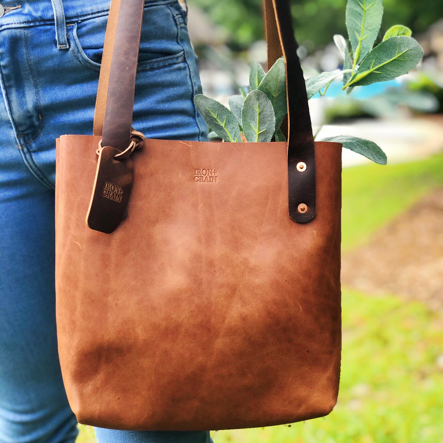 Women's Leather Tote / Shoulder Bag