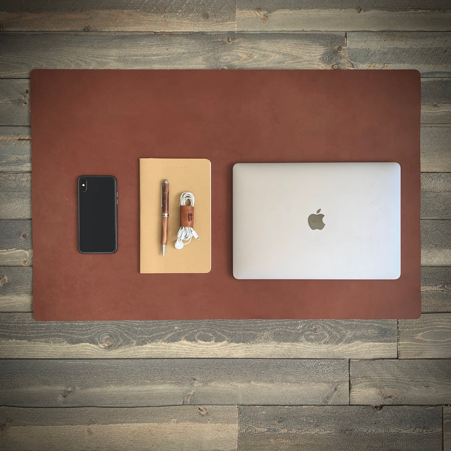 Leather Desk Mat - Discontinued colors
