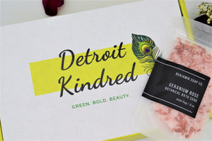 Geranium Rose Bath Soak - Detroit Kindred