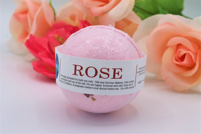 Rose Bath Bomb - Detroit Kindred