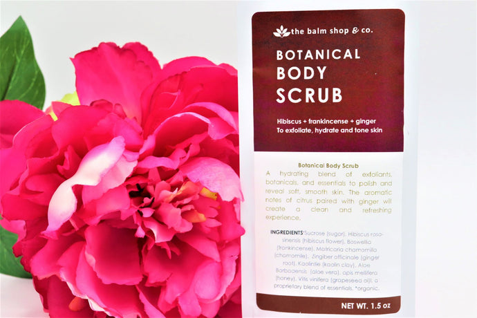 Botanical Body Scrub - Detroit Kindred