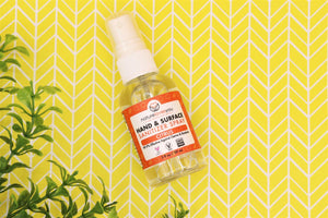 Citrus Hand & Surface Sanitizer Spray - Detroit Kindred