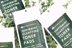 Peppermint Clarifying Toner Pads - Detroit Kindred