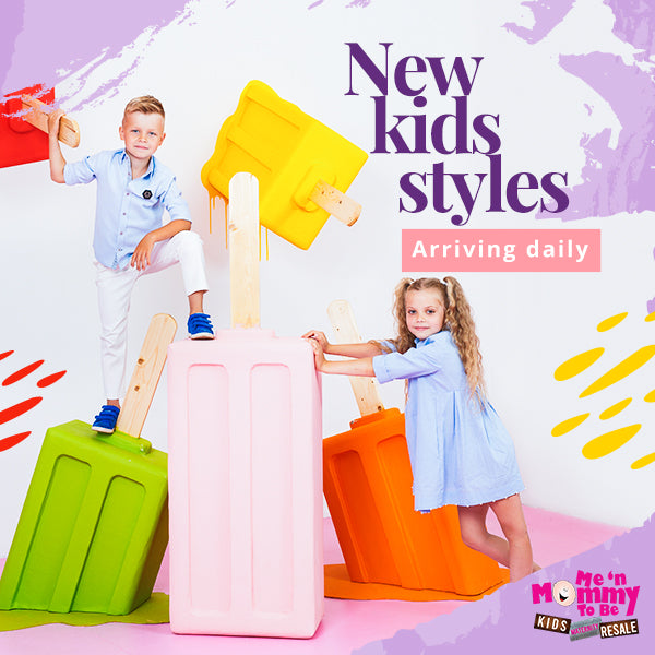 New kids styles arriving daily