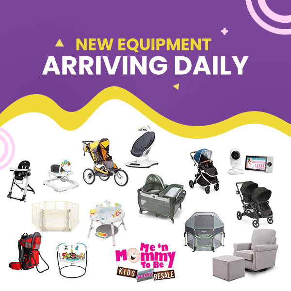 Feature of new baby equipment that arrive daily