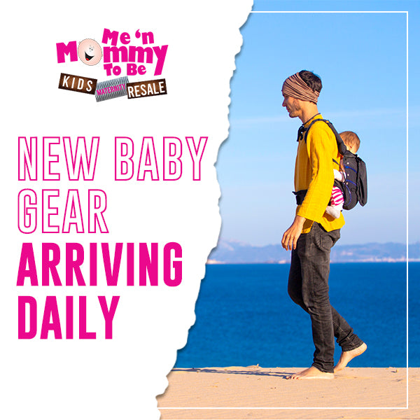 Feature of new baby gear that arrives daily