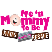 Me 'n Mommy To Be Kids & Maternity Resale Consignment Thrift Store Logo