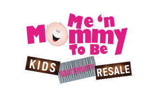 Me 'n Mommy To Be Kids & Maternity Resale Consignment Store Logo