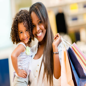 Mom shopping Children's and maternity consignment