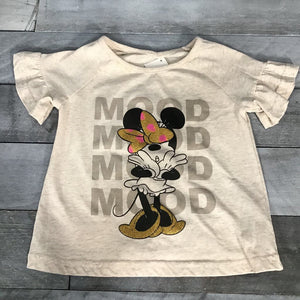 Disney Shirt Minnie Mood sz 6X