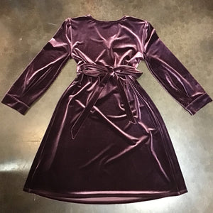 Gap Maternity Long Sleeve Velvet Dress sz XS
